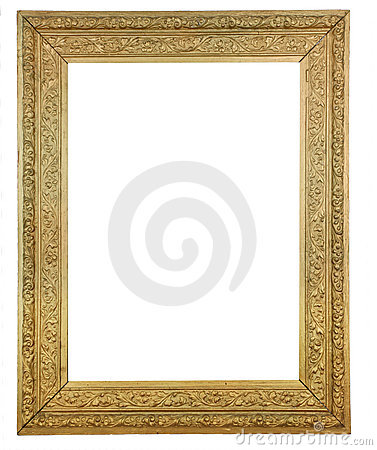 Gold Plated Wooden Picture