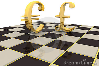 Gold Pound Euro Currency