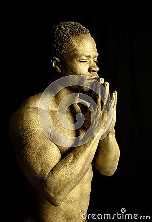 Gold pray