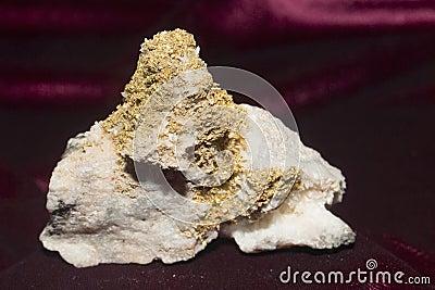 Gold Quartz and Sphalerit