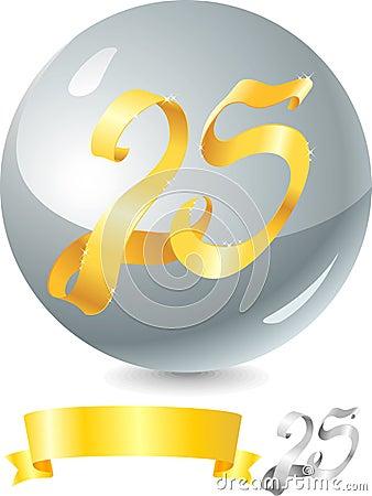 Gold Ribbon 25