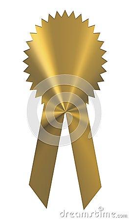 Gold Ribbon Award Medal