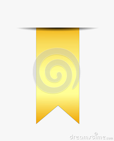 Gold ribbon promotional