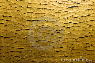 Gold ripple  background