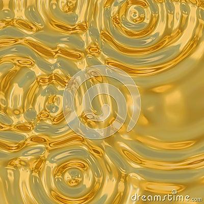 Free Gold Ripples Royalty Free Stock Photos - 2705338