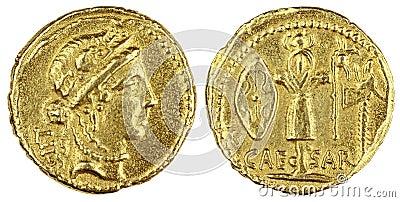 Gold Roman Coin