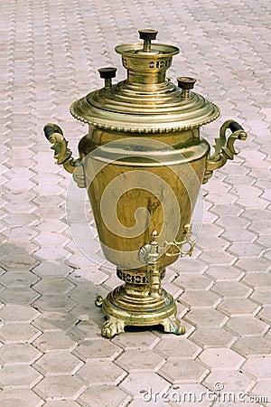 Gold  Samovar  (coal heating boiler)