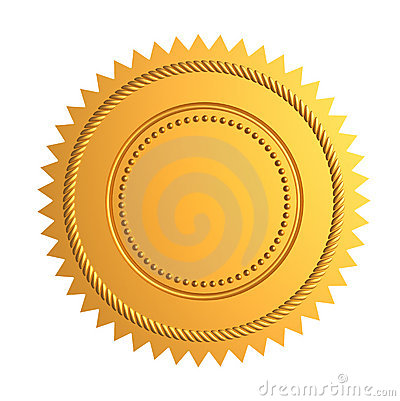 Free Gold Seal Royalty Free Stock Photos - 11734928