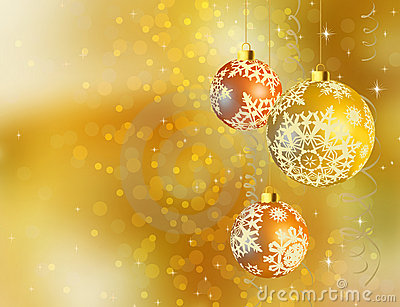 Gold shiny Christmas background.