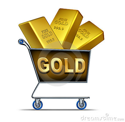 Gold shopping