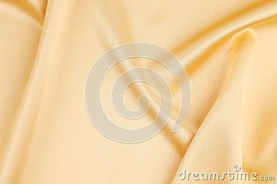 Gold silk background.