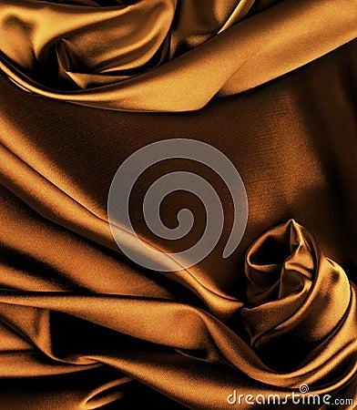 Gold silk background