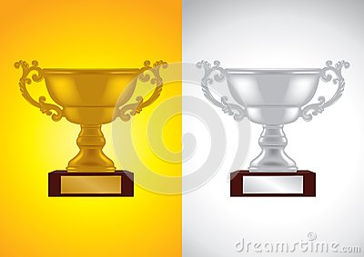Gold and Silver Award - Vector