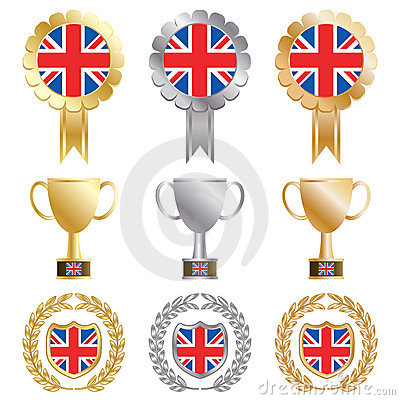 Gold silver bronze uk