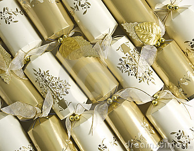 Gold and Silver New Year s Eve Party Crackers