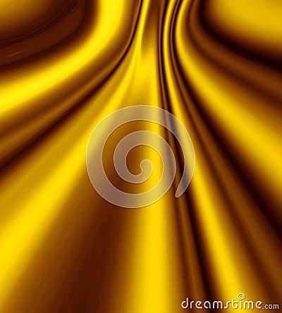 Gold Smooth Satin