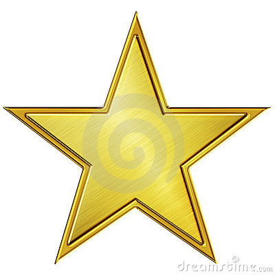 Free Gold Star Stock Photo - 16229720