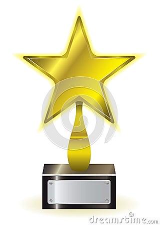 gold star award royalty free stock photo image 19896415