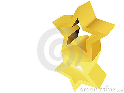 Gold Star Award Sculpture Statue