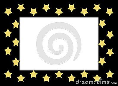 Gold Star Border