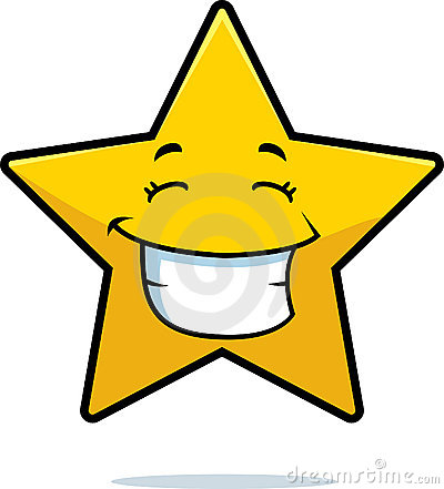 Gold Star Smiling