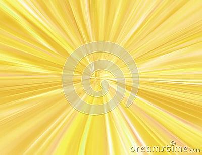 Gold starburst