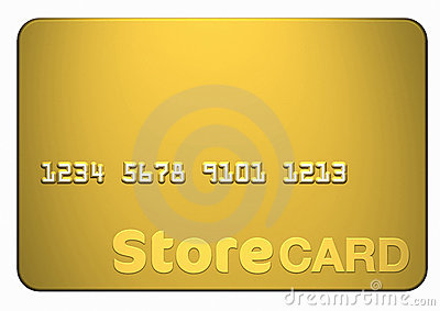Gold Store Card