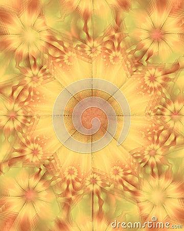 Gold Sunflowers Flower Texture