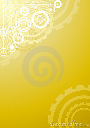 Free Gold Technological Background Stock Photos - 6530963