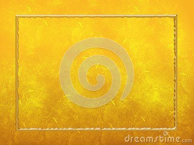 Gold Textured Background Frame