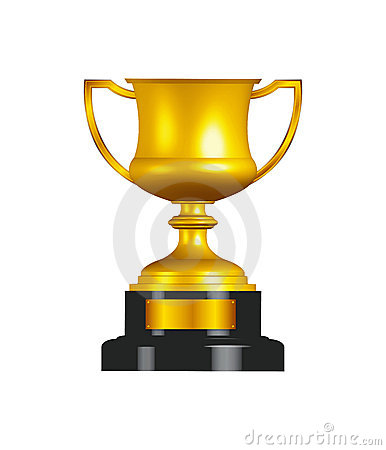 Free Gold Trophy Cup Stock Photo - 12948540