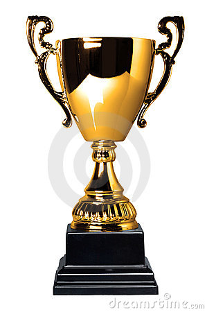 Free Gold Trophy Cup Isolated Stock Photo - 7449220