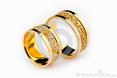 gold wedding rings royalty free stock photography image 26636067 - Wedding Rings Gold