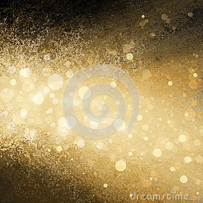 Free Gold White Christmas Lights Blurred Background Stock Images - 38646504