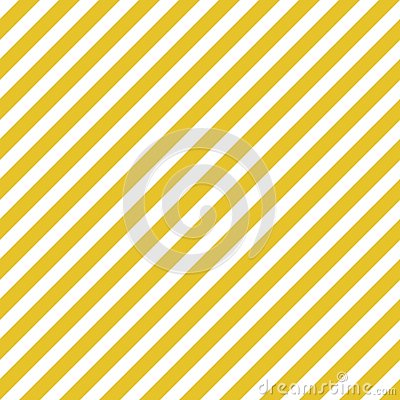 Gold white diagonal stripes seamless pattern Vector Illustration