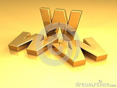 Gold WWW