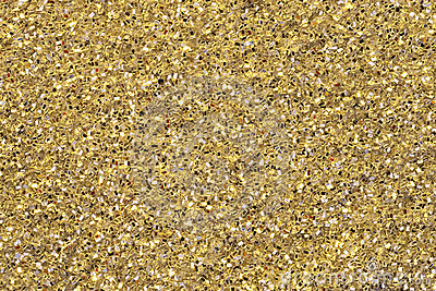 Gold Yellow Glitter Detail