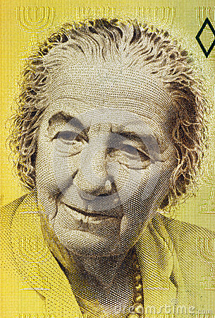 Golda Meir Editorial Stock Photo