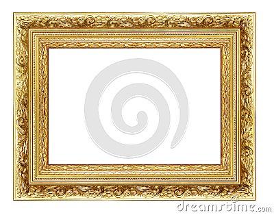 Goldeh frame