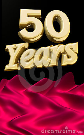 Golden 50 years anniversary ceremony