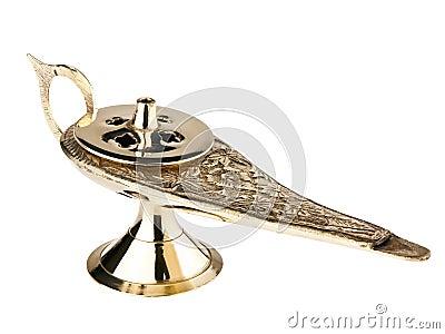 Golden Aladdin s Lamp