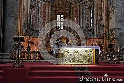 Golden Altar San Giuseppe dei Teatini