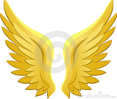 Golden Angel Wings/eps