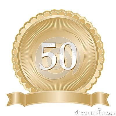 Golden Anniversary Seal
