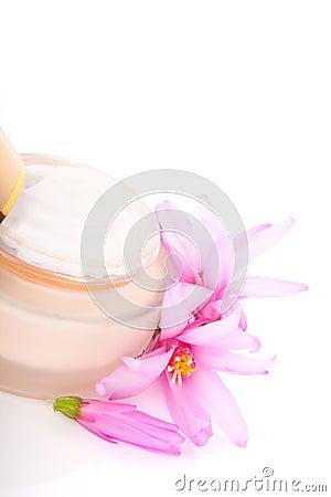 Anti aging moisturiser lotion.