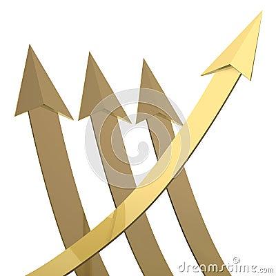 Golden arrow grow up