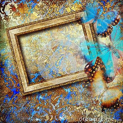 Free Golden Art Royalty Free Stock Image - 13885476