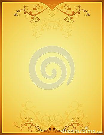 Golden background, vetor