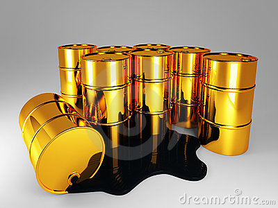 GOLDEN BARREL OF OIL