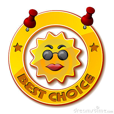 Golden best choice sun